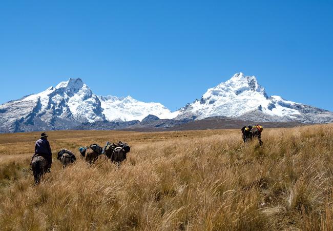 Cordillera Blanca, Peru - Hugh Newall