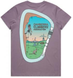 CCA tee-shirt - women's back