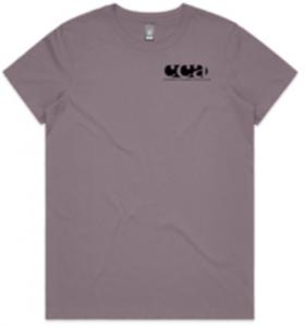 CCA tee-shirt - women's front