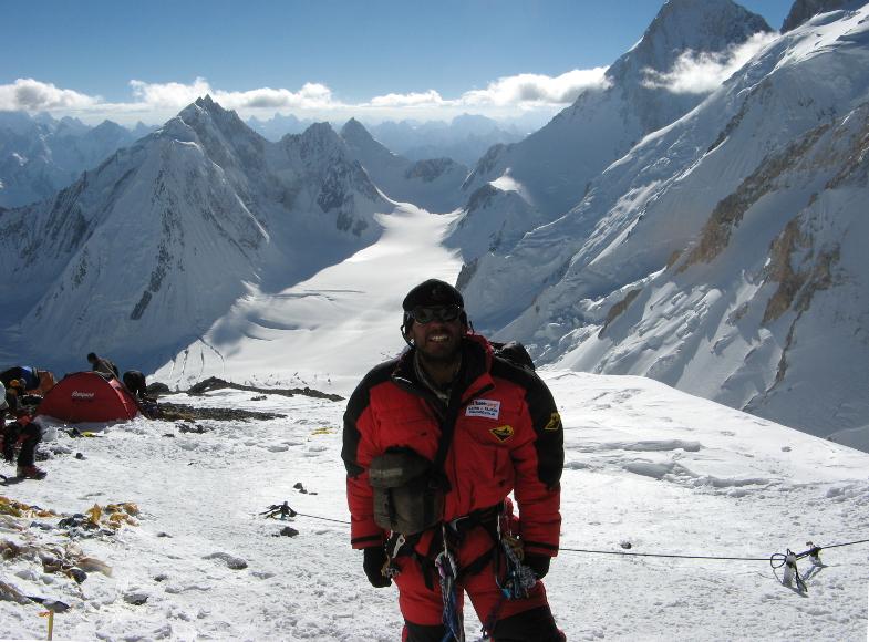 Camp 3 on Gasherbrum 1, Pakistan