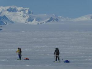 Patagonia - icefield traverse - Ken Baldwin & Theo Hooy, 2019