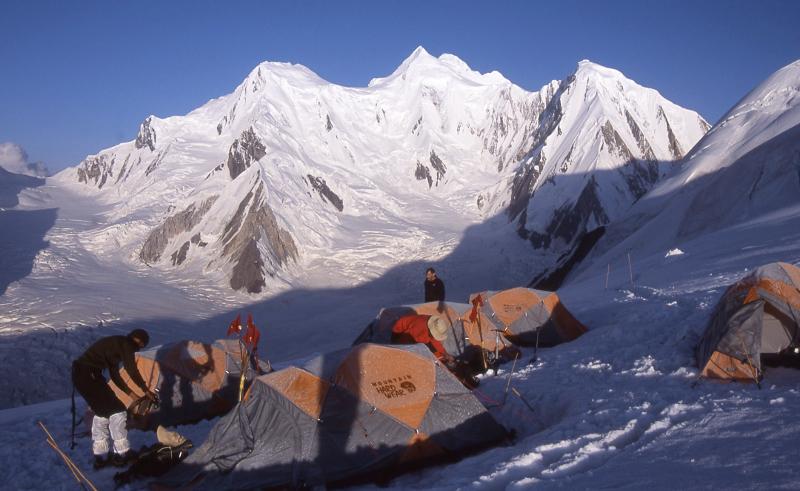 Camp 2 on Spantik